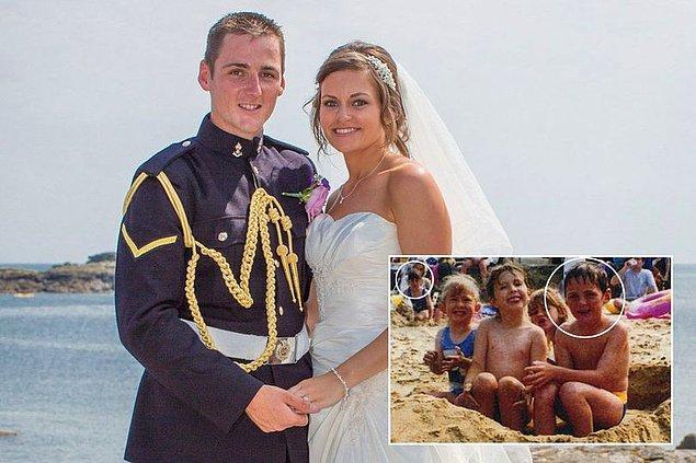 6. Fotoğraftaki çiftin adları Aimee Maiden ve Nick Wheeler. Evlenmeye hazırlanan bu iki genç, Nick'in büyükanne ve büyükbabasını ziyaret ettikleri sırada fotoğraf albümlerini karıştırmaya karar verdiler.