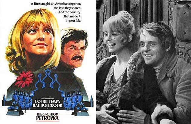 """10. Ünlü oyuncu Anthony Hopkins'e 1973 yılında George Feifer'in bir romanından beyaz perdeye uyarlanan """"Petrovkalı Kız"""" filminde yer alması için teklif götürüldü ve Hopkins bu teklifi kabul etti."""
