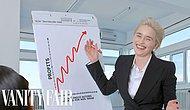 Game of Thrones'un Efsane Oyuncusu Emilia Clarke, Stok Fotoğrafları Yeniden Canlandırdı