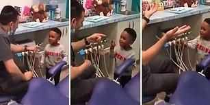 Dişçiye Gelen Ufaklığın Korkusunu Yenmesi İçin İllüzyon Yeteneklerini Kullanan Mükemmel Doktor