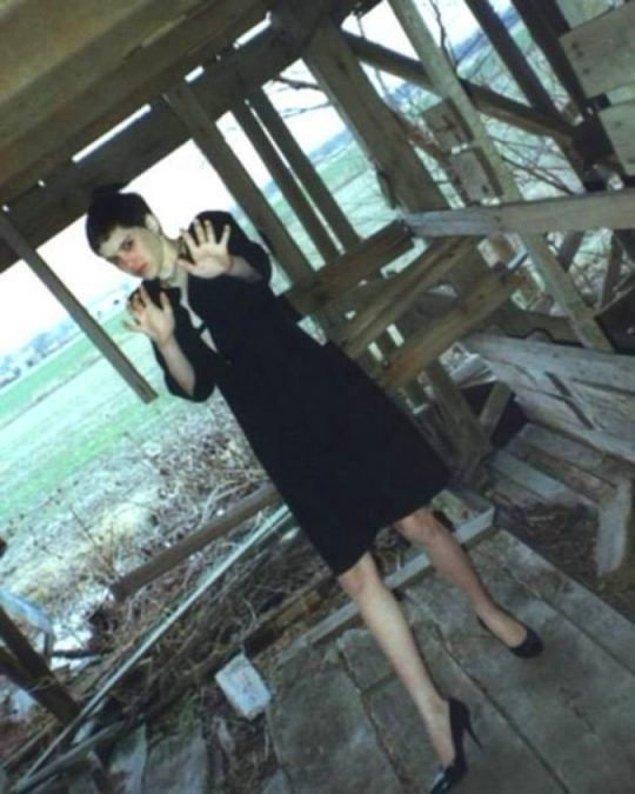 9. Seri katil, kurbanı Regina Kay Walters'ı öldürmeden dakikalar önce bu fotoğrafı çekti.