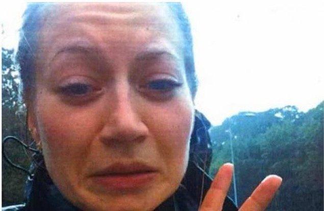 20. Anne Faber bu selfie'yi erkek arkadaşına gönderdikten dakikalar sonra kaçırıldı ve öldürüldü.