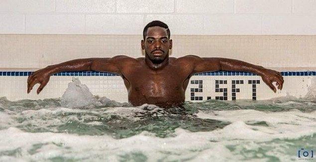 26. MMA dövüşçüsü Rondel Da'twaun Clark'ın ölmeden önceki son fotoğraflarından biri.