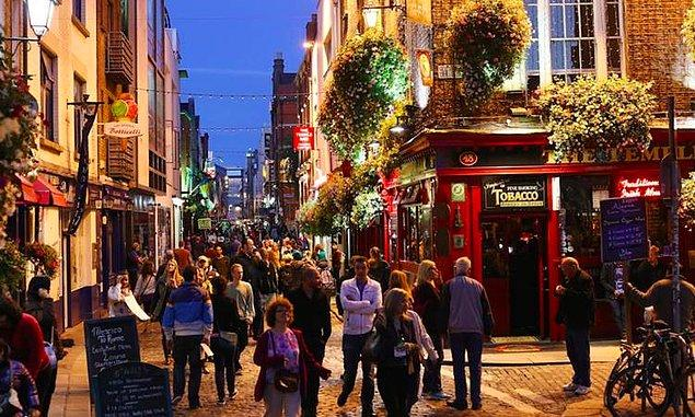 20. Dublin, İrlanda - 2.762 $