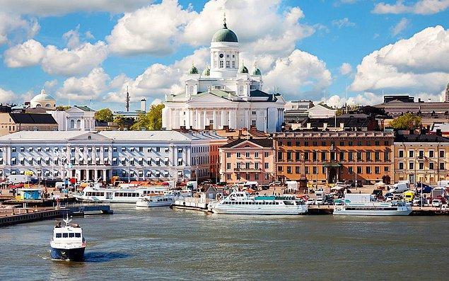 17. Helsinki, Finlandiya - 2.988 $