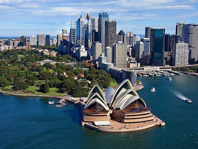 4. Sidney, Avustralya - 3.914 $