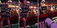 Teknede Dans Ederken Kelimenin Tam Anlamıyla Suyun Dibini Boylayan Talihsiz Kadın