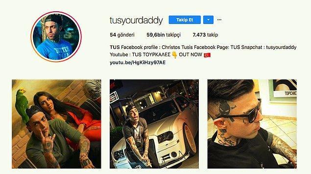Tus ise ilgiden memnun! Hatta Instagram hesabına bir Türk bayrağı emojisi ekledi ve tüm gönderilerine #Türkiye etiketini ekliyor.