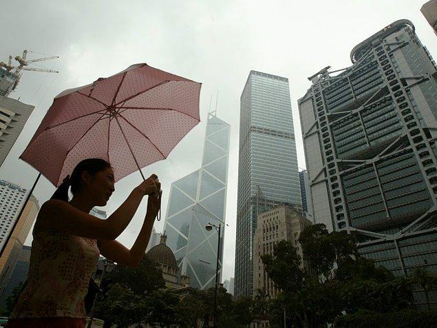 23. Hong Kong, Çin — 2,550$