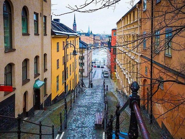 16. Stockholm, İsveç — 2,999$