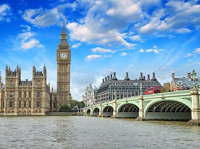 11. Londra, İngiltere — 3,381$
