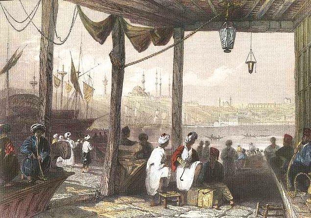 16. yüzyılda, İstanbul'dayız.