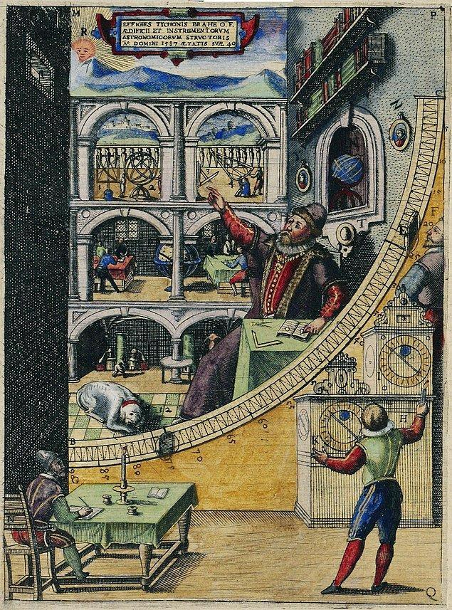 Öncülüğünü onun astronomiye olan örtük katkısıyla anlatalım.