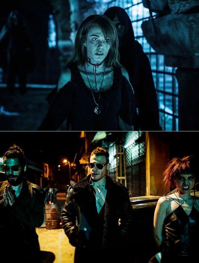 5. Vampir dizisi Yaşamayanlar'ın setinden yeni fotoğraflar geldi: