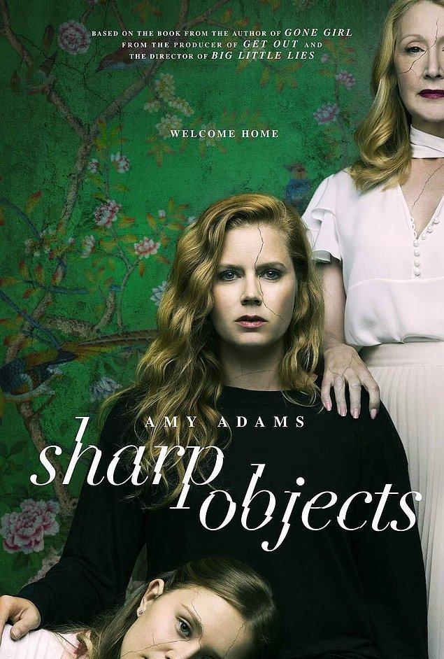 9. HBO'nun Amy Adams'lı mini dizisi Sharp Objects'in posteri yayınlandı.