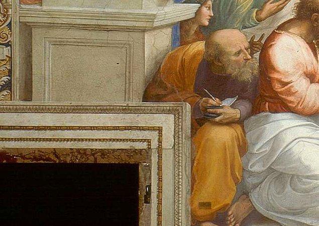 Thales'in öğrencisi Anaksimandros, MÖ. 600'lü yıllarda Milet Okulu'nun en önemli filozoflarından biri.