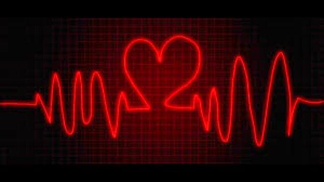 1. Aşıkların kalbi senkronize atar.