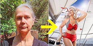 Photoshop Nelere Kadir! Yaşlı Kadınların Nasıl Kapak Kızına Dönüştüğünü Görünce Ağzınız Açık Kalacak!
