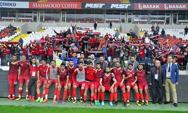 Gaziantepspor 🔻 [TFF 2. Lig'e düştü]