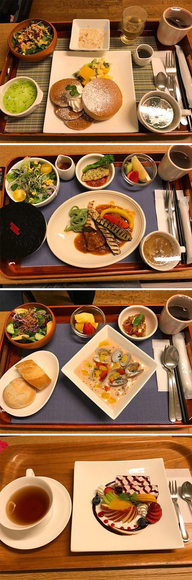"""1. """"Yakın bir zamanda Japonya'da doğum yaptım ve hastanede verilen yemekler..."""""""