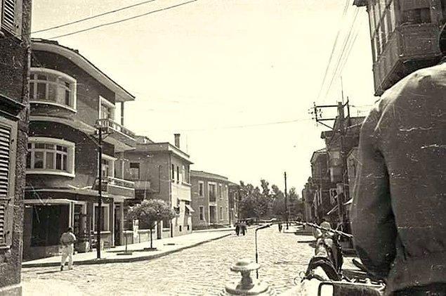 3. Kıbrıs Şehitleri Caddesi, Alsancak (1940'lar)