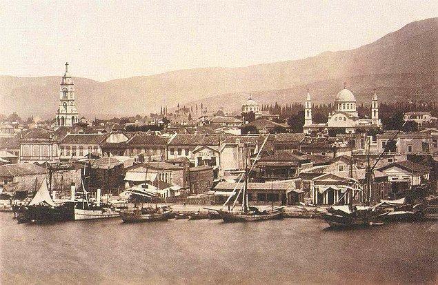6. Günümüzde Konak İskelesi ile Konak Pier arası (1880'ler)