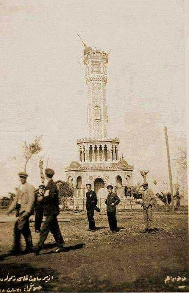 7. Depremden sonra Saat Kulesi