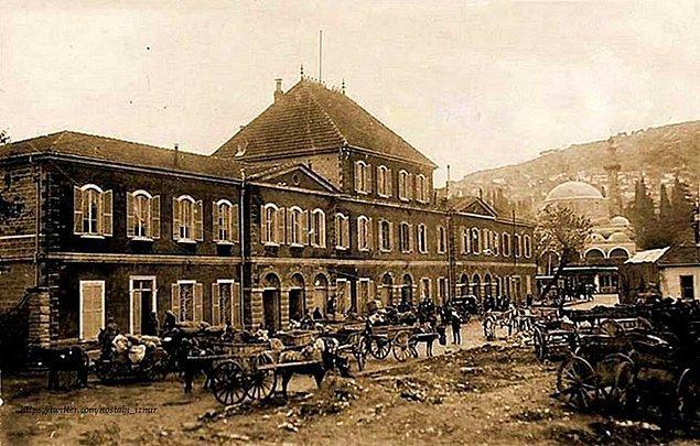 11. Basmane Gar ve Çorakkapı Camii (1910'lar)