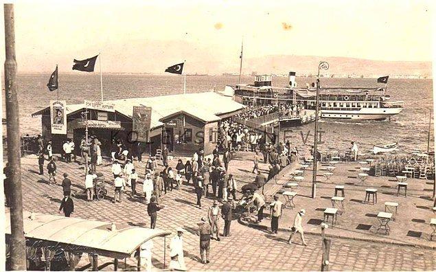 13. Karşıyaka İskele (1930'ların başları)