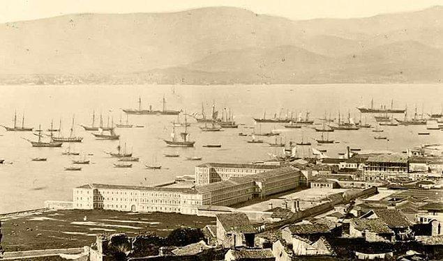 19. Körfez, Sarı Kışla ve çevresi (1860'lar)