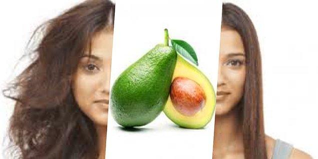 6. Avokado saçlarınızın kabarmasına engel olur.