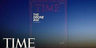 TIME Dergisinin 958 Drone ile Hazırladığı Kapak Görselinin Kamera Arkası Görüntüleri