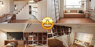 '22 Metrekarelik Ev mi Olur?' Demeyin! İşte Kocaman Hayatların Sığabileceği Küçücük Evler