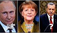Aslında Birer Devlet Memuru Olan Devlet Başkanı ve Başbakanların Ne Kadar Maaş Aldıklarını Biliyor musunuz?