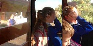 Babasının Arabasından Utanan Ufaklığın Göz Yaşlarına Boğulduğu Anlar