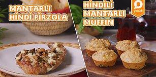 Ramazan'da Enerjinizi Korumanız İçin Bol Bol Protein: İftarlık Mantarlı Hindi Pirzola ve Sahurluk Hindili Mantarlı Muffin Nasıl Yapılır?