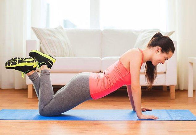 3. Fiziksel egzersizleri pas geçmeyin.