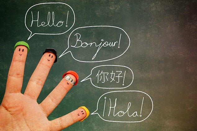 10. Yeni bir dil öğrenin.