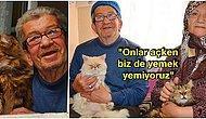 Sokak Kedilerini Evlerine Alıp Çocukları Gibi Bakan Murat Amca ve Hatice Teyze'yi Mutlaka Tanımalısınız!