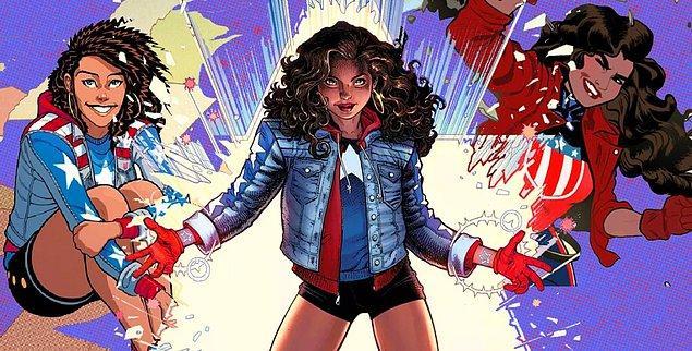 America Chavez ise Selena Gomez için başka bir ihtimal gibi görünüyor.