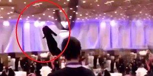 Suudi Arabistan'da Gerçekleşen Defilede Kıyafetleri Modeller Değil Drone'lar Taşıdı!