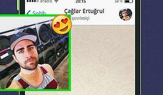 WhatsApp'ta Çağlar Ertuğrul'u Tavlayabilecek misin?