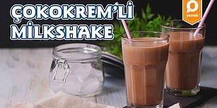 Yaz Aylarının Favori İçeceğini Bulduk: Çokokrem'li Milkshake Nasıl Yapılır?