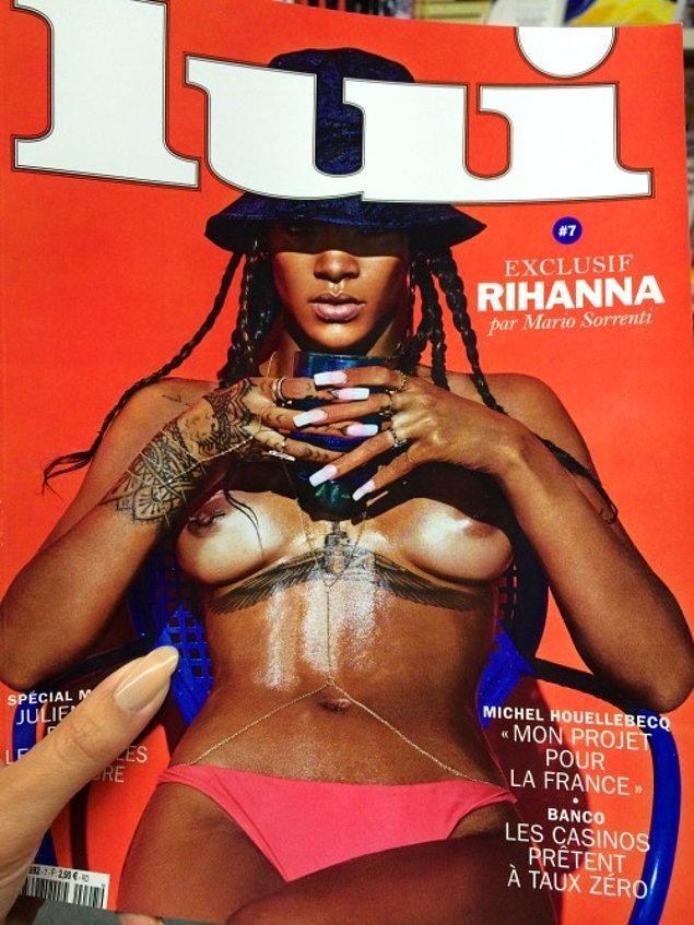 4. Bir dönem Rihanna da öyleydi. Öyle ki paylaştığı bu pozu yüzünden hesabı kapatılmıştı.