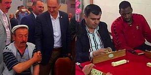 Yurdum İnsanının Kahvehanede Oyun Oynarken Full Konsantrasyon Takıldığını Gösteren 15 Kare