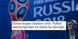 Yaklaşan Dünya Kupası Yüzünden Hunharca Maç İzlemek İsteyip Heyecanını Dile Getiren 17 Futbol Sever