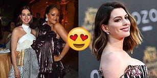 Rihanna'nın Anne Hathaway'e Doğum Sonrası Vücuduyla Barışık Hissetmesi İçin Söyledikleri Sizin de Gününüzü Güzelleştirecek!