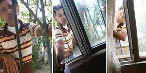 Sapık Komşu Kapıya Dayandı! 12 Yaşındaki Çocuğun Korku Dolu Anları Kamerada