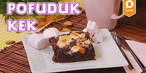 Bol Bol Lezzet Tek Bir Dilimde: Marshmallowlu Pofuduk Kek Nasıl Yapılır?