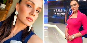 Kanal D Ana Haber'in Dikkatleri Üzerine Çeken Güzeller Güzeli Spikeri Buket Aydın